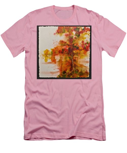 Double Reflection Men's T-Shirt (Slim Fit) by Carolyn Rosenberger
