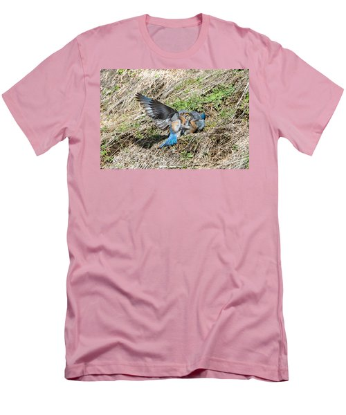 Men's T-Shirt (Slim Fit) featuring the photograph Down For The Count by Mike Dawson
