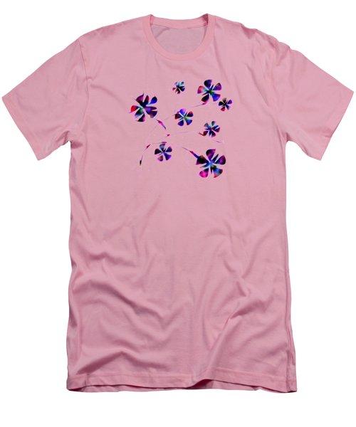 Dream Flowers Men's T-Shirt (Athletic Fit)