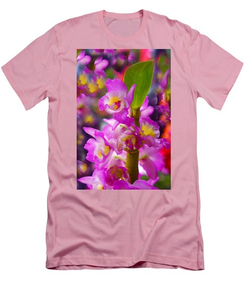 Men's T-Shirt (Slim Fit) featuring the photograph Dream Of Spring by Byron Varvarigos