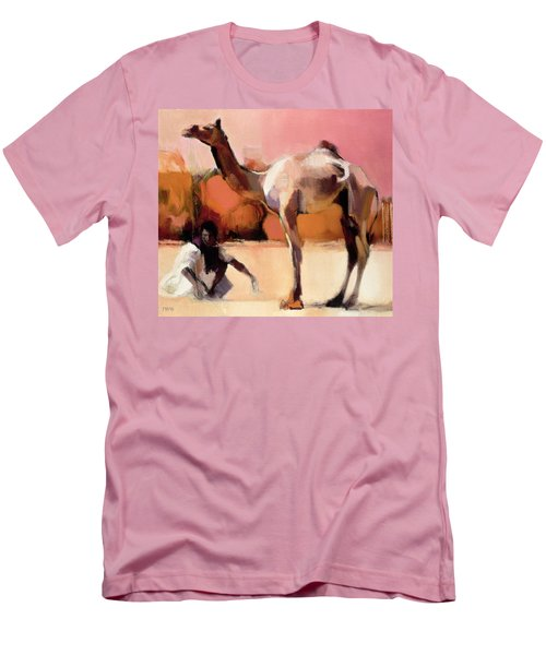 dsu and Said - Rann of Kutch  Men's T-Shirt (Slim Fit)
