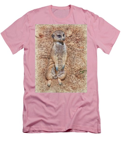 Men's T-Shirt (Athletic Fit) featuring the photograph Earth Manikin by Hanny Heim