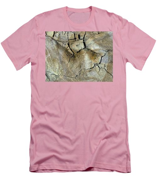 Men's T-Shirt (Slim Fit) featuring the photograph Earth Memories-thirsty Earth by Ed Hall