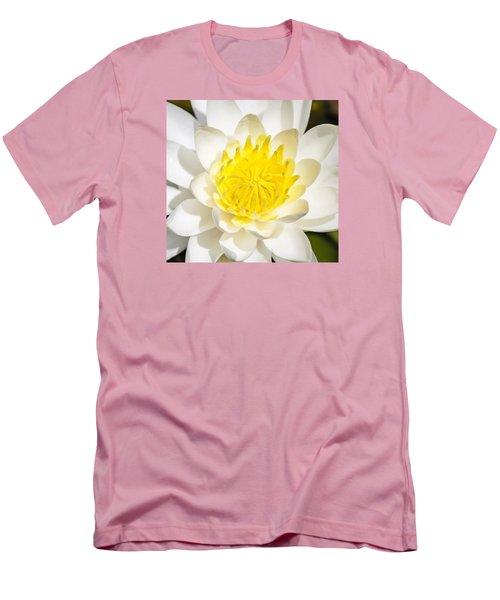 Elegant Lotus Men's T-Shirt (Slim Fit) by Christopher L Thomley