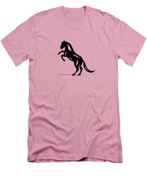 Emma - Abstract Horse Men's T-Shirt (Athletic Fit)
