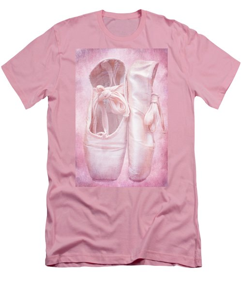 En Pointe Men's T-Shirt (Slim Fit) by Iryna Goodall
