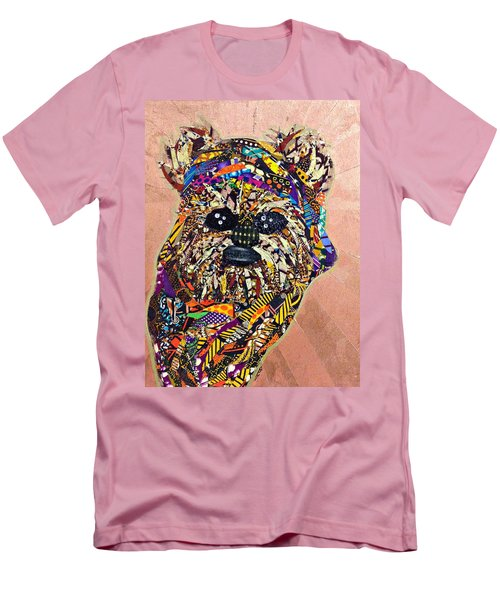Ewok Star Wars Afrofuturist Collection Men's T-Shirt (Athletic Fit)
