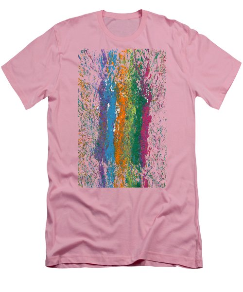 Exclamations 2 Men's T-Shirt (Slim Fit) by Lori Kingston