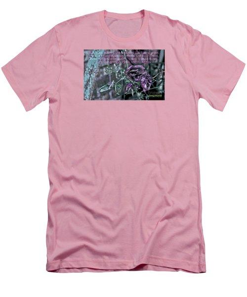Fading Rose Men's T-Shirt (Athletic Fit)