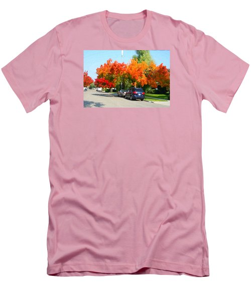 Fall In The City Men's T-Shirt (Slim Fit)