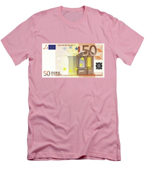 Fifty Euro Bill Men's T-Shirt (Athletic Fit)
