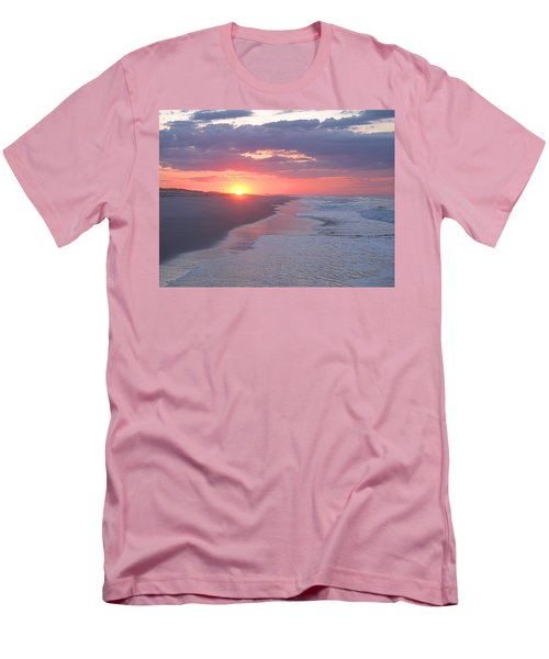 Men's T-Shirt (Slim Fit) featuring the photograph First Daylight by Newwwman