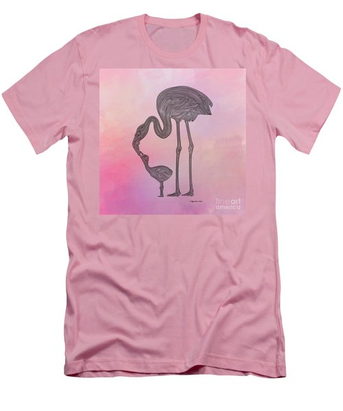 Flamingo6 Men's T-Shirt (Athletic Fit)