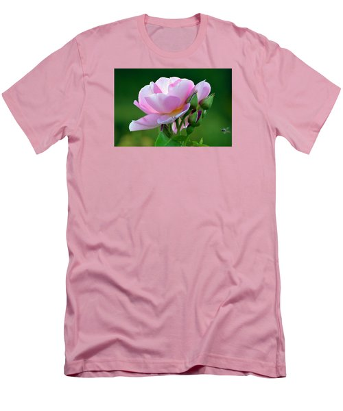 Flight Of The Pollinator. Men's T-Shirt (Athletic Fit)