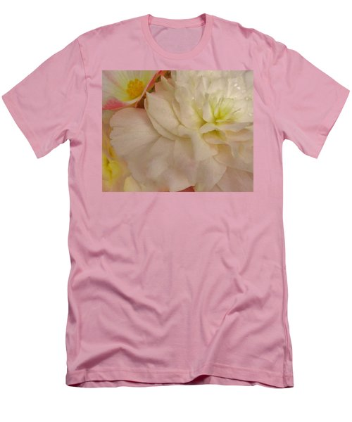 Floral Harmony Men's T-Shirt (Athletic Fit)