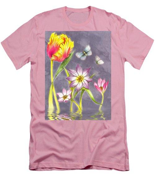 Floral Supreme Men's T-Shirt (Slim Fit) by Mario Carini