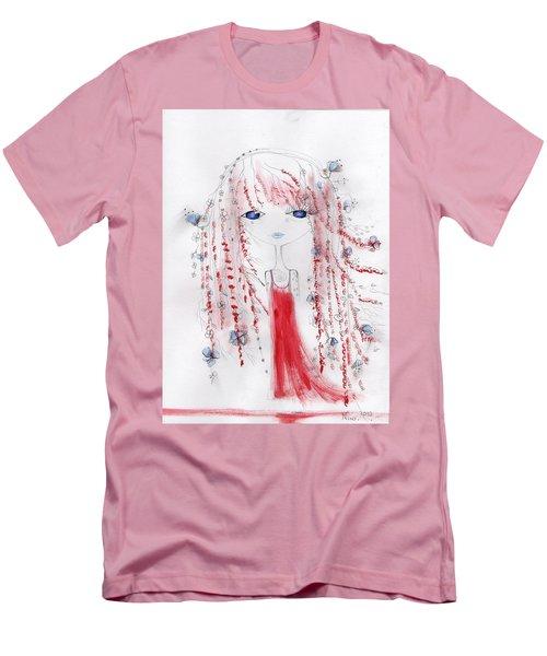 Flower Girl  Men's T-Shirt (Athletic Fit)