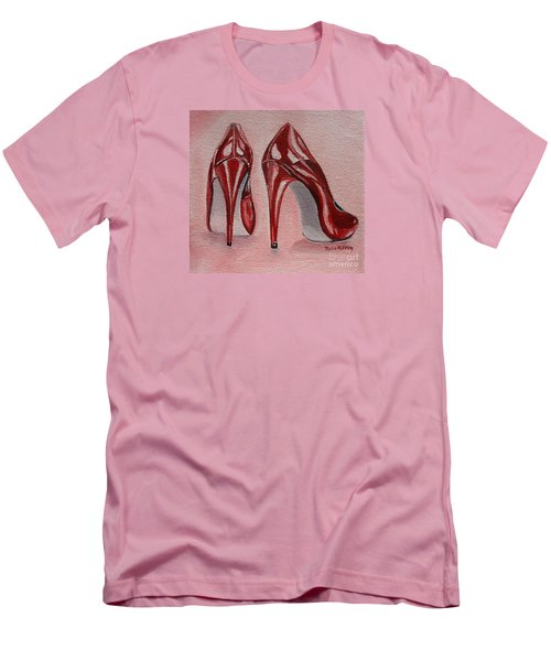 Foot Candy Men's T-Shirt (Slim Fit) by Julie Brugh Riffey