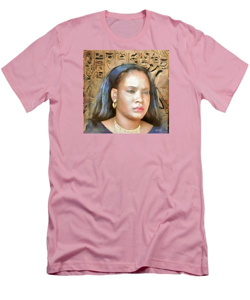 Men's T-Shirt (Slim Fit) featuring the painting For Nicole Edwards by Wayne Pascall