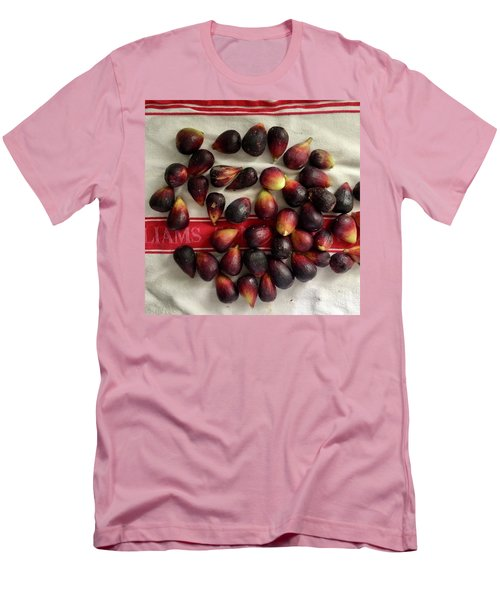 Men's T-Shirt (Slim Fit) featuring the photograph Fresh Figs by Kim Nelson
