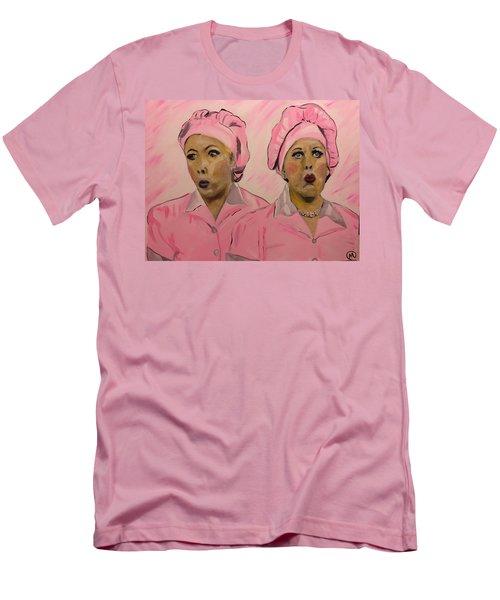 Friendship Factor  Men's T-Shirt (Slim Fit) by Miriam Moran