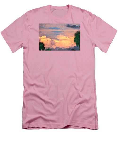 Ft De Soto Sunset Clouds Men's T-Shirt (Athletic Fit)