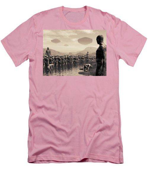Future Cattle Men's T-Shirt (Athletic Fit)