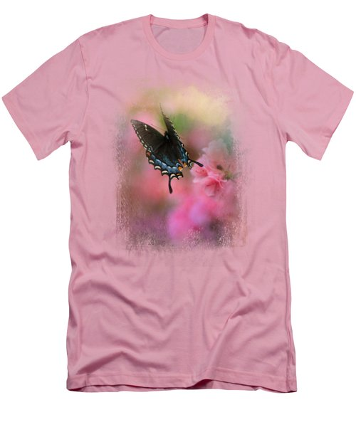 Garden Friend 1 Men's T-Shirt (Slim Fit) by Jai Johnson