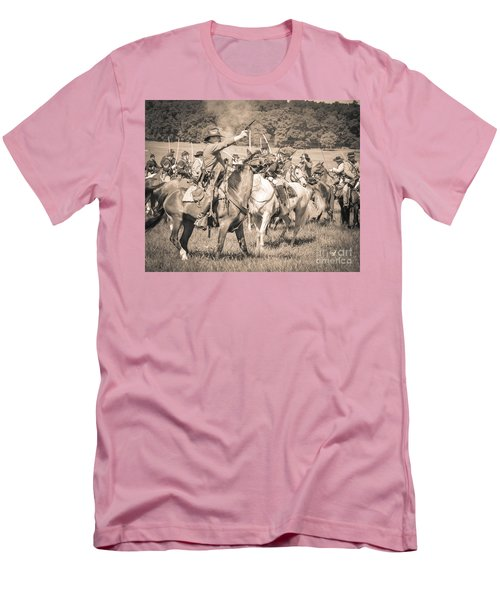 Gettysburg  Union Cavalry 7920s  Men's T-Shirt (Athletic Fit)