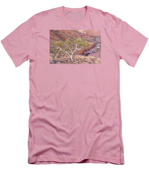 Ghost Gum Men's T-Shirt (Slim Fit) by Racheal  Christian