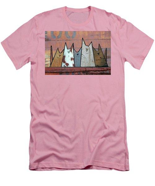 Glee Club Men's T-Shirt (Slim Fit) by Joan Ladendorf