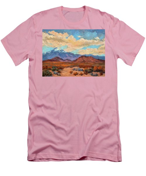 God's Creation Mt. San Gorgonio  Men's T-Shirt (Slim Fit) by Diane McClary