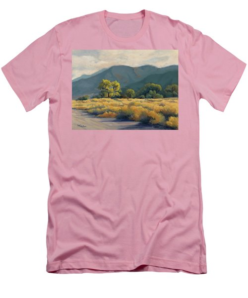Golden Hour In Owen's Valley Men's T-Shirt (Athletic Fit)