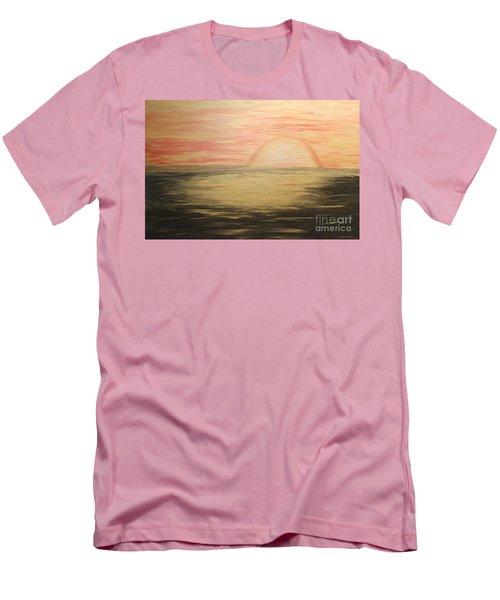 Golden Sunset Men's T-Shirt (Athletic Fit)