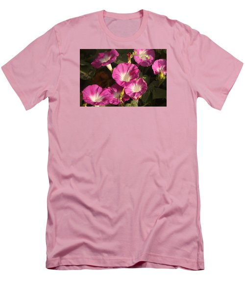 Men's T-Shirt (Slim Fit) featuring the photograph Good Morning, Glory by Sheila Brown