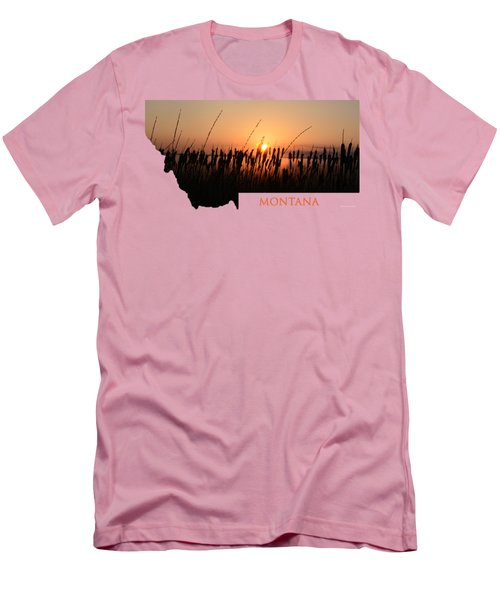Good Morning Montana Men's T-Shirt (Athletic Fit)