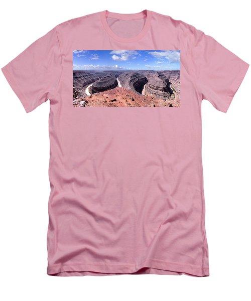 Gooseneck Bends Panorama Men's T-Shirt (Athletic Fit)
