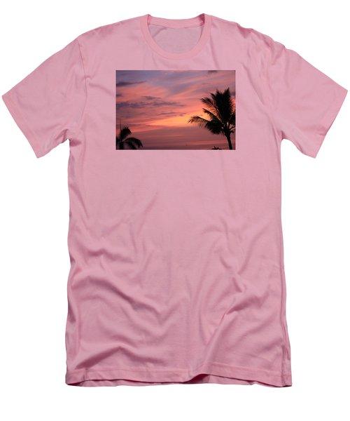 Men's T-Shirt (Slim Fit) featuring the photograph Gorgeous Hawaiian Sunset - 3 by Karen Nicholson