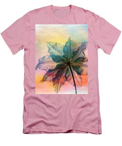Men's T-Shirt (Slim Fit) featuring the digital art Gracefulness by Klara Acel