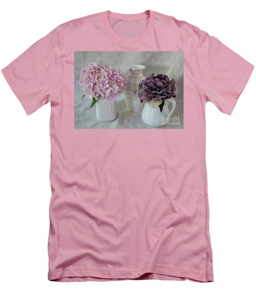 Men's T-Shirt (Slim Fit) featuring the photograph Grandmother's Vanity Top by Sherry Hallemeier