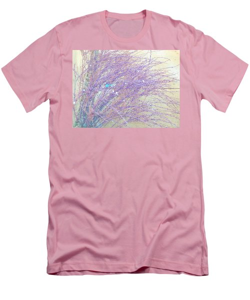 Men's T-Shirt (Slim Fit) featuring the photograph Grasses Toward The Sun by Lenore Senior
