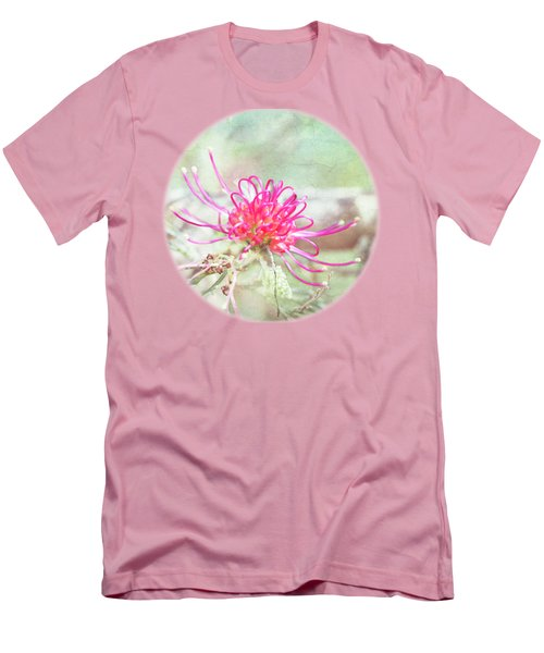 Men's T-Shirt (Slim Fit) featuring the photograph Grevillea by Linda Lees