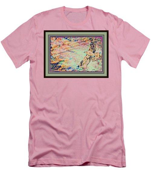 Hawk And Sky Men's T-Shirt (Slim Fit) by YoMamaBird Rhonda