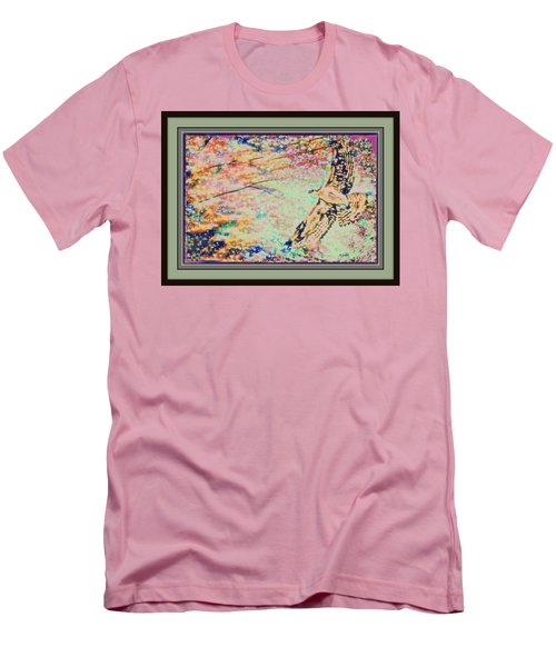 Hawk And Sky Men's T-Shirt (Athletic Fit)
