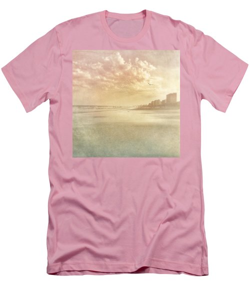 Hazy Day At The Beach Men's T-Shirt (Athletic Fit)