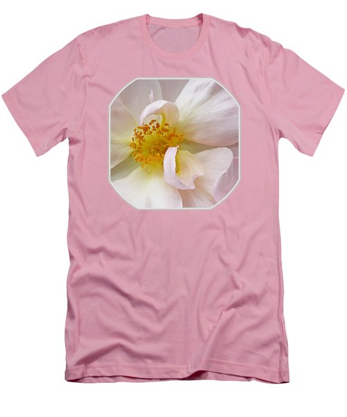 Heart Of The Rose Men's T-Shirt (Athletic Fit)