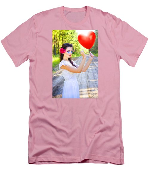Men's T-Shirt (Athletic Fit) featuring the photograph Heartache And Heartbreak by Jorgo Photography - Wall Art Gallery