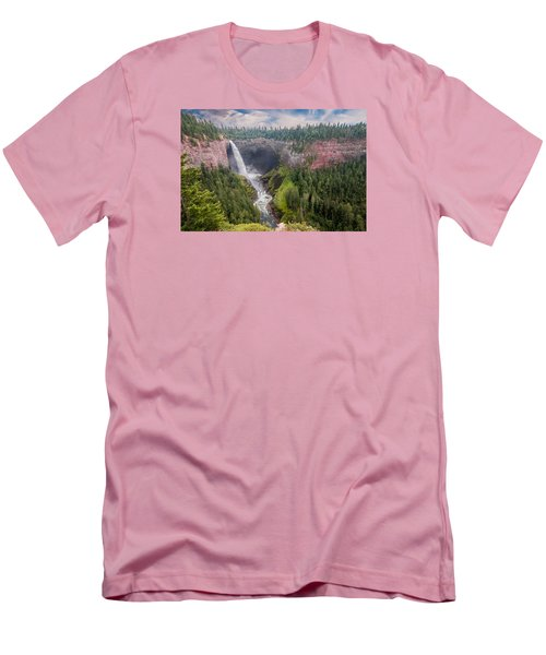 Helmcken Falls Men's T-Shirt (Athletic Fit)