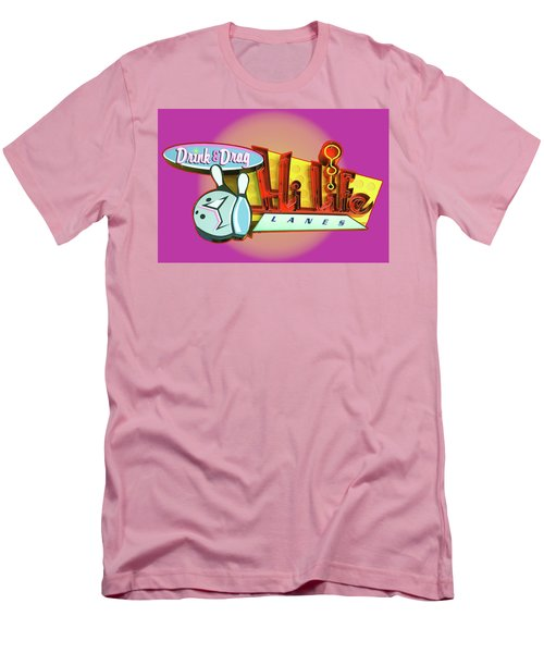 Men's T-Shirt (Slim Fit) featuring the photograph Hi Life Drink And Drag by Jeff Burgess