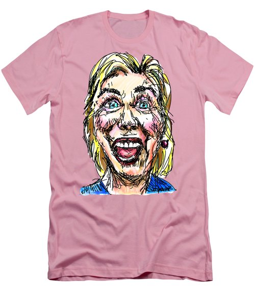 Hillary Men's T-Shirt (Slim Fit) by Robert Yaeger